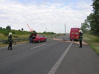 Červené Audi, jehož řidič se podruhé narodil