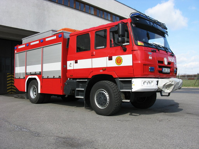 Cas 20 Tatra 815 Terrno Tht Plastisol Hasicu Prazskeho Dopravniho