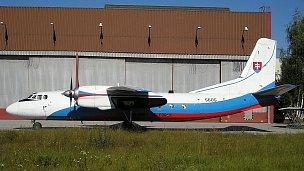 Tento letoun havaroval 19. 1. 2006, foto pochází z letiště Trenčín, pořízeno bylo v roce 2001, autorem je Václav Kudela