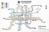 mapa Pekingského metra
