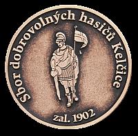 Pamětní mince s vlastní grafikou hasičského sboru