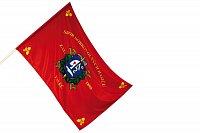 Venkovní hasičská vlajka, 100x150 cm, dle vlastního motivu