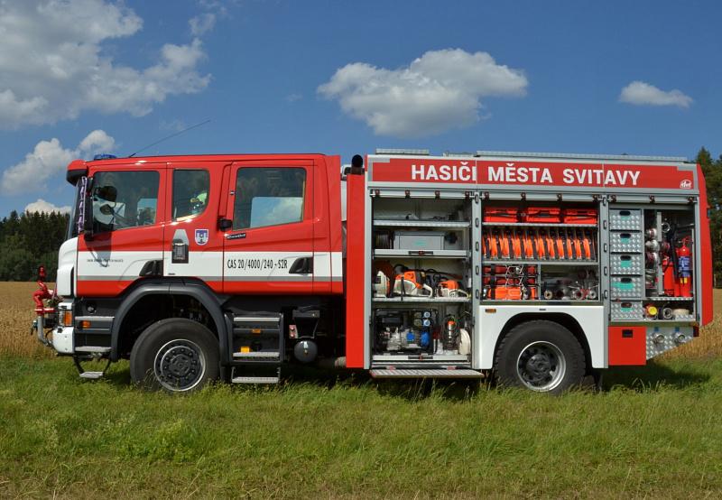 ceb65c7b3ef ... jednotku sboru dobrovolných hasičů. Vozidlo starostovi Svitav předal  ředitel společnosti THT Polička s.r.o. pan Ing. Stanislav Červený.
