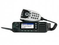 Motorola MOTOTRBO DM4600e s externím ovládáním, obdoba dělené montáže
