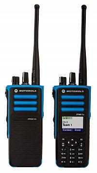 Motorola MOTOTRBO_DP4000_Atex do výbušného prostředí