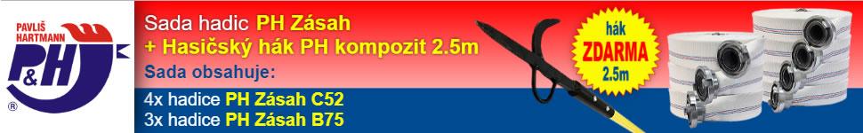 Banner Partner & VIP: Pavliš a Hartmann 970x150 #1 Hadice bílá