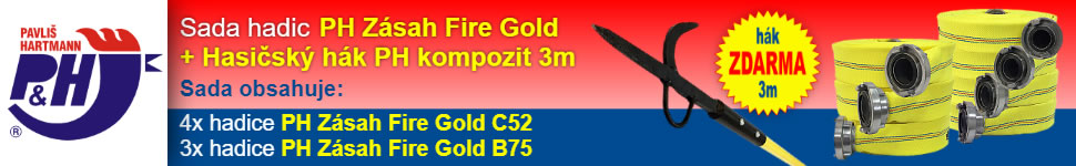 Banner Partner & VIP: Pavliš a Hartmann 970x150 #2 Hadice gold