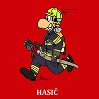 Magnetka - Hasič